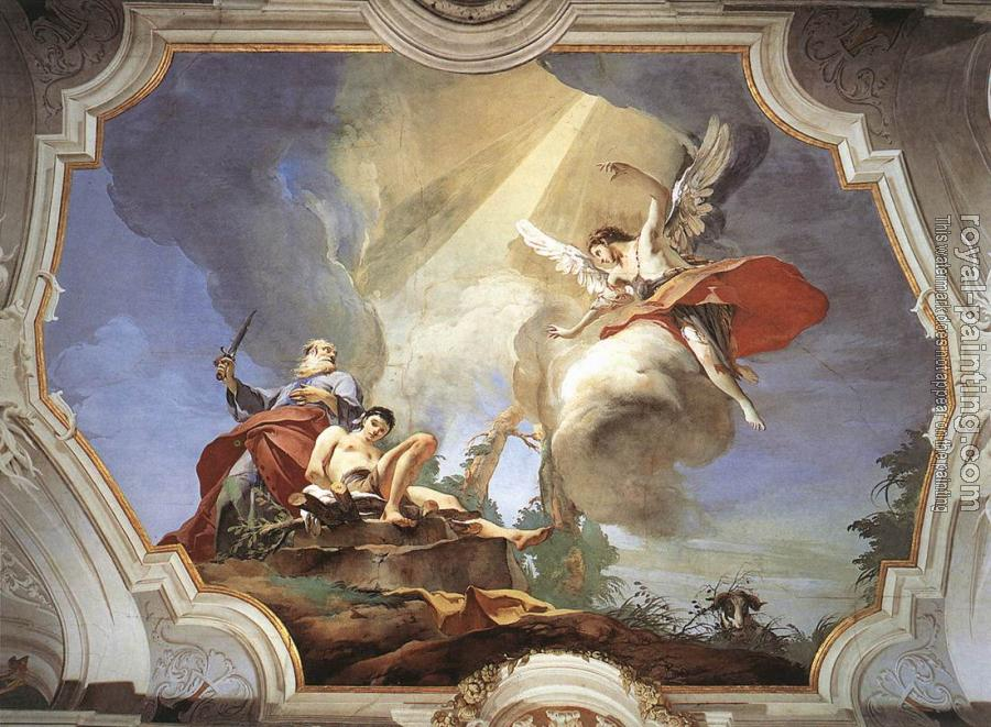 Giovanni Battista Tiepolo : Patriarcale The Sacrifice of Isaac